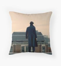 Sherlock Falls Throw Pillow