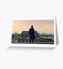 Sherlock Falls Greeting Card