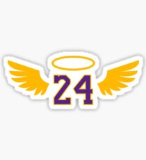 Rip Lakers 24 Sticker
