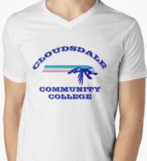 Cloudsdale Community College Men's V-Neck T-Shirt