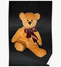 JR Bear's Brown Bow Poster