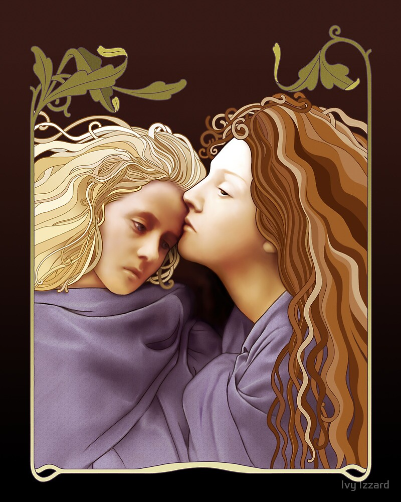 The Kiss of Peace by Ivy Izzard