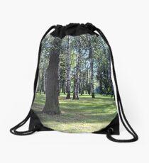 Summer forest Drawstring Bag