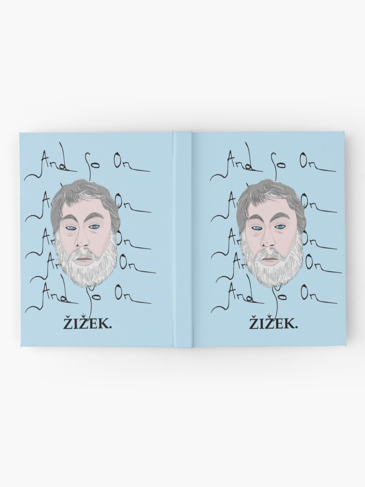 Alternate view of Zizek and so on Hardcover Journal