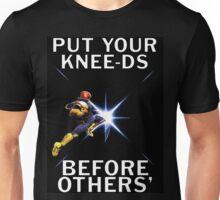 Captain Falcon - Your Knee-ds Unisex T-Shirt