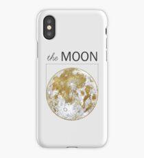 Golden Moon iPhone Case/Skin
