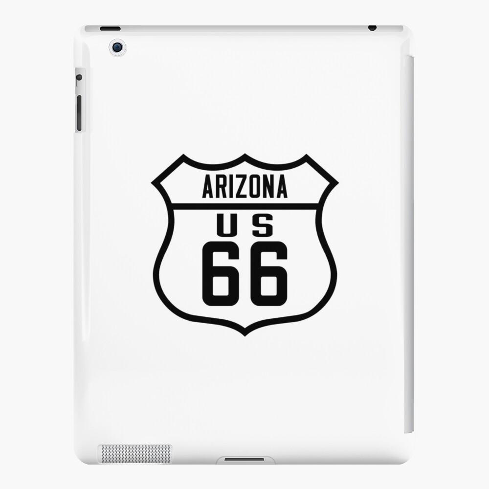 Route 66 Arizona Road Sign iPad Cases & Skins