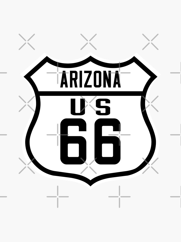 Route 66 Arizona Road Sign by worldofsigns