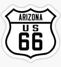 Route 66 Arizona Road Sign Sticker