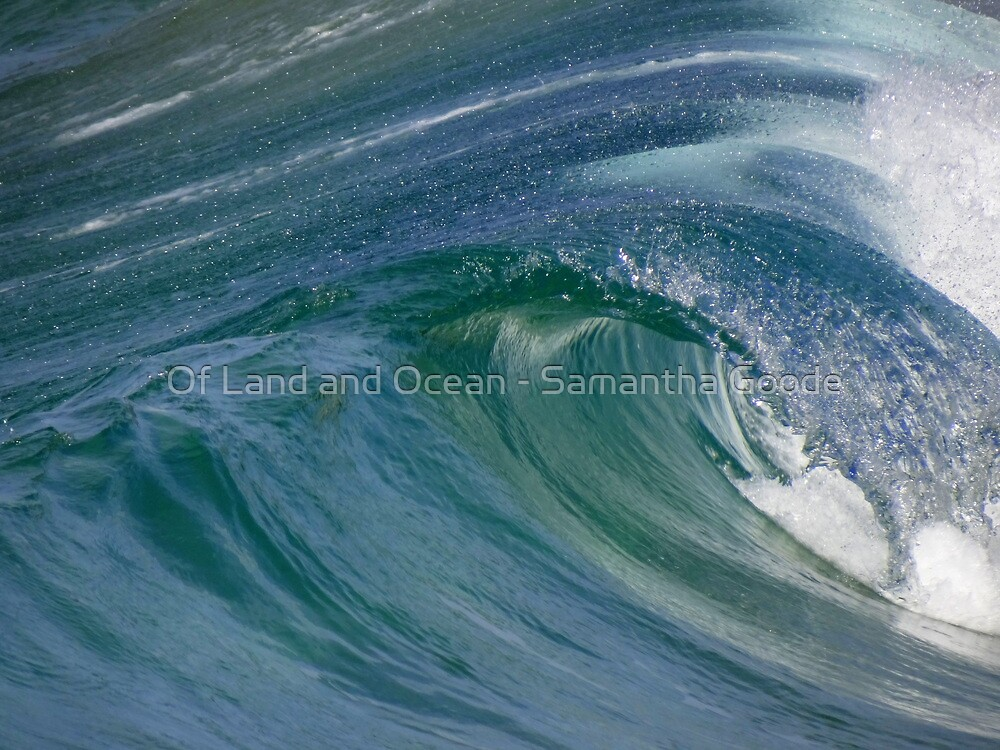 Curvaceous Water by Of Land & Ocean - Samantha Goode