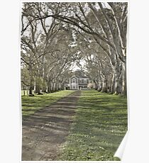 Oakbank House in HDR Poster