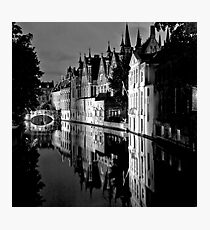 Canals of Bruges Photographic Print