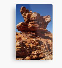 Rock Formations Metal Print