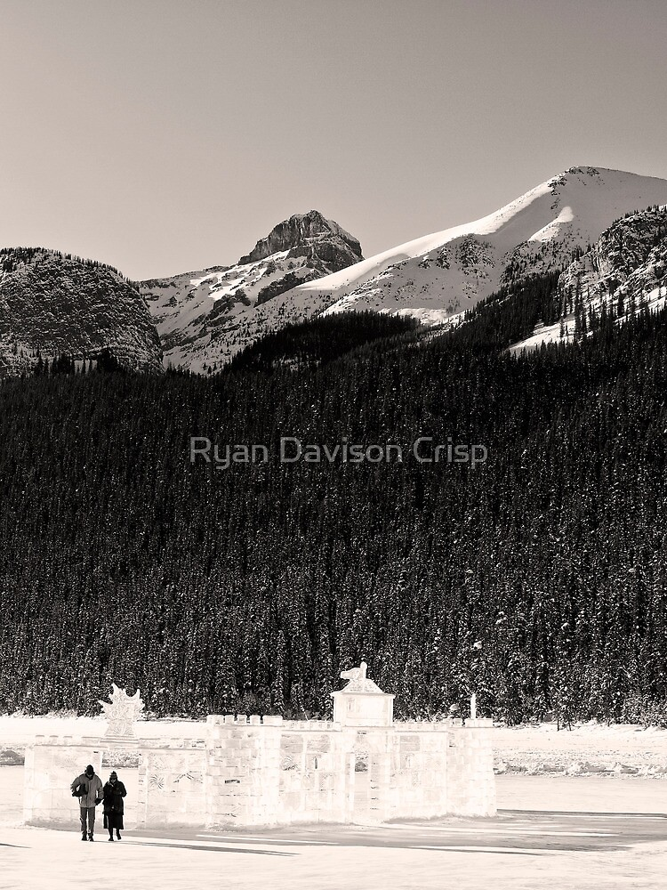 Lovers Stroll from an Ice Castle by Ryan Davison Crisp