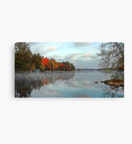 Fall - Highland Lake (Kramers Landing) Canvas Print