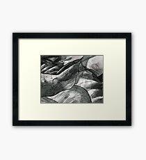 Leaves Close-up Framed Print