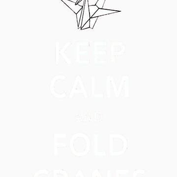fold cranes by Munnin