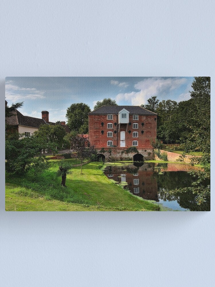 Alternate view of Sproughton Water Mill Canvas Print