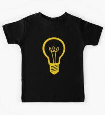 Attention Lightbulb Kids Tee
