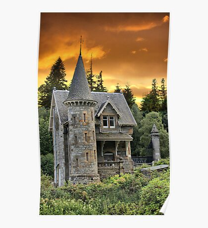 Fairytale Castle #2 Poster
