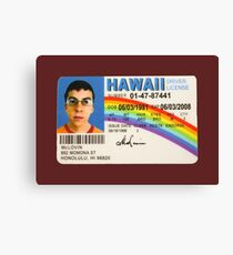 McLovin's License Canvas Print