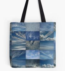 Clouds in a Blue Sky 5x5 Tote Bag