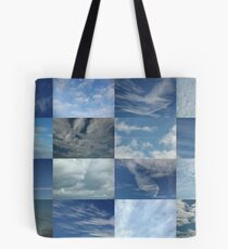 Clouds in a Blue Sky 8x4 Tote Bag