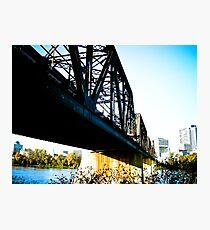 Old Train Bridge Photographic Print
