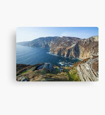 Sliabh Liag sea cliffs in Co. Donegal Canvas Print