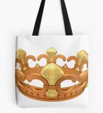 Royal gold crown Tote Bag