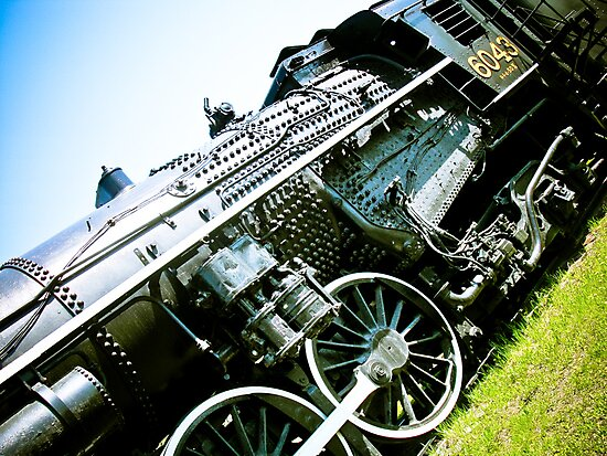 Old locomotive Steam Train 01 by mdkgraphics