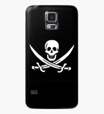 Pirate Flag - Calico Jack Case/Skin for Samsung Galaxy