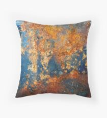 Autumnal Rust Throw Pillow