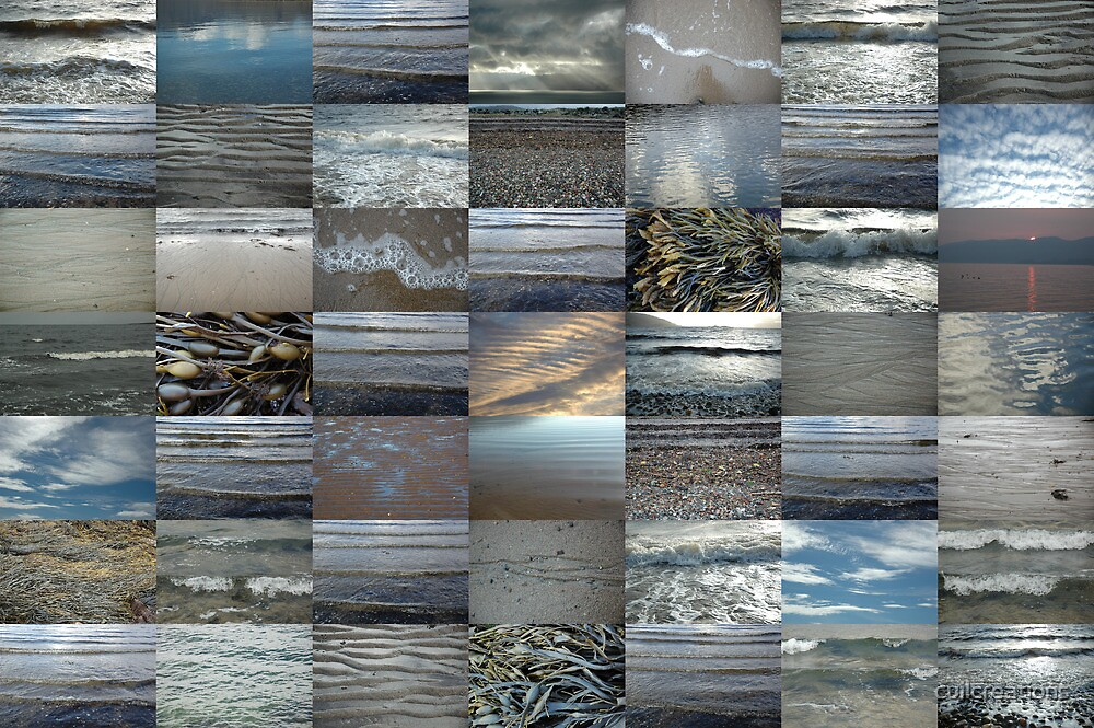 On the Shore in Argyll 7x7 by cuilcreations