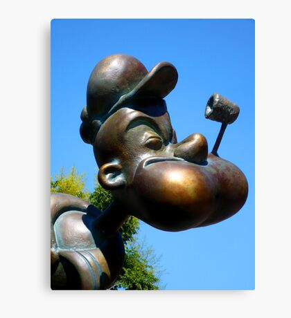 Popeye in Florida Canvas Print