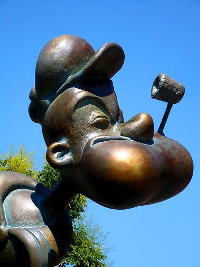 Popeye in Florida by dgscotland