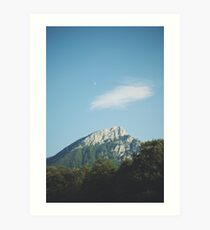 Mountains in the background VIII Art Print
