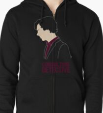 Consulting Detective Zipped Hoodie