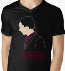 Consulting Detective Men's V-Neck T-Shirt