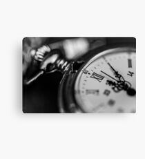 Pocket Watch, The Time is Yours Canvas Print