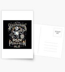 Skellingtons Pumpkin Royal Craft Ale Postcards