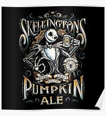 Skellingtons Pumpkin Royal Craft Ale Poster