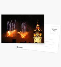 Edinburgh Festival Fireworks 2011 (V) Postcards