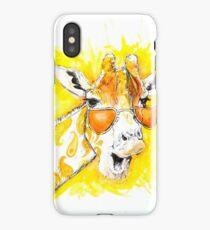 Funky Giraffe iPhone Case/Skin