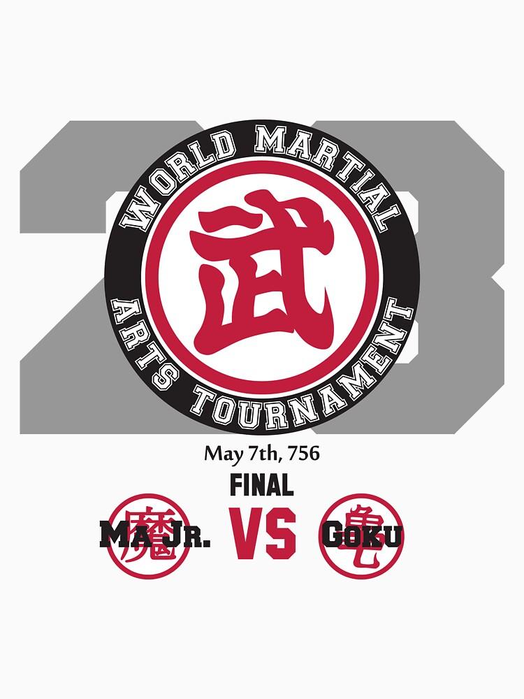 23rd World Martial Arts Tournament (Dragonball Z) by CloakAndDaggers
