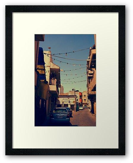 Bahrain Alleyway by Drew Hillegass