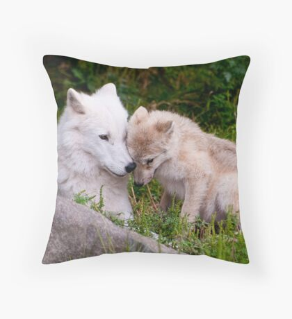 Touching Moment Throw Pillow