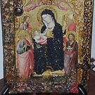 Madonna & Child with Saints. Homage to Agnolo Gaddi 2. by Ian A. Hawkins