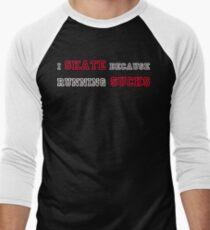 Why I Skate 2 Men's Baseball ¾ T-Shirt