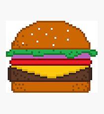Art Mural Sur Le Thème Pixel Art Alimentaire Redbubble